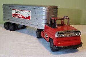 Marx Toys Ford Cab Private Label SEARS ALLSTATE TT TRUCK 60's V RARE ORIGINAL