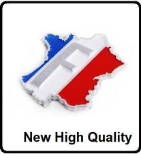 F France Flag Car Badge Emblem Frence Peugeot Renault Citroen Sport Rally (15)