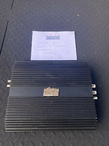 THE ORIGINAL CLASS D SUBWOOFER AMPLIFIER EARTHQUAKE 200DHC AMP OLD SCHOOL