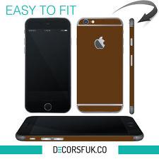iPhone 6 skin brown - apple skin vinyl - iphone 6 sticker / iphone 6 decals