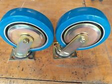 """2 - 8"""" Wagner Swivel Casters with Grease Fittings"""