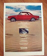 1970 Toyota Corona Hardtop Coupe Automatic Ad