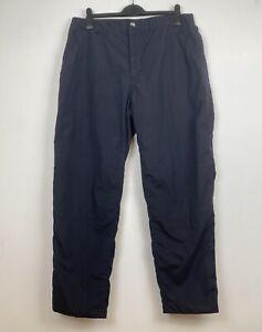 Craghoppers Mens Winter Fleece Lined SolarDry Trousers W36 L31 Walking Hiking