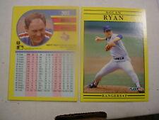 1991 # 302 Nolan Ryan Fleer Rangers