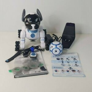 WowWee CHiP Interactive Robot Dog - Dog, REmote with band, ball, cord, & dock