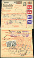 ITALY IN SLOVENIA 1942 UPRATED PARCEL POST CARD FROM BOROVNICA