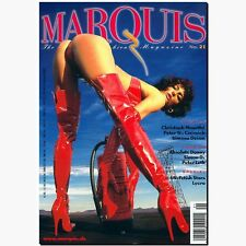 Marquis 21 2000 Fetish Magazin Lack Latex Gummi BDSM EROTIK MODE Peter Czernich