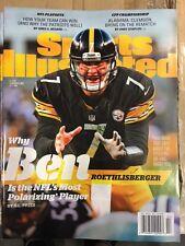 January 9, 2017 Ben Roethlisberger Steelers Sports Illustrated NO LABEL