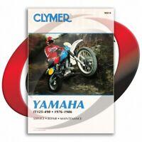 1981-1982 Yamaha IT465 Repair Manual Clymer M414 Service Shop Garage
