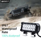 7INCH 36W LED Work Light Bar Spot Beam for Offroad JEEP 4WD Boat ATV SUV Fog