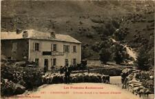 CPA L'Hospitalet, L'Hotel Soulé&la Cascade d'Arques (646979)