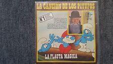 Vader Abraham - Smurf song 7'' Single SUNG IN SPANISH (Das Lied der Schlümpfe)