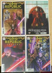 STAR WARS AGE OR REPUBLIC SPECIAL 1 PHAM PUZZLE VARIANT COVER SET AHSOKA TANO NM