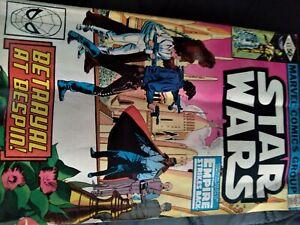 Star Wars Vol.1 #43 very good condition the empire strikes back 1 app Lando