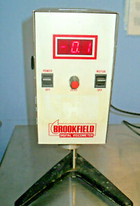 BROOKFIELD RVTD VISCOMETER WITH STAND