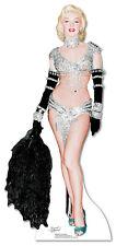 SC-246 Marilyn Monroe Showgirl Lebensgroß Aufsteller Pappaufsteller