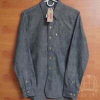 Mens Levis Sunset One Pocket Denim Shirt Selvedge Jean Chambray Nishimbo S $128