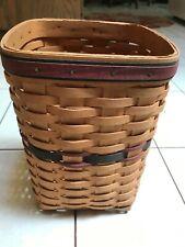Longaberger 1995 Father's Day Mini Waste Basket- Large Spoon Basket