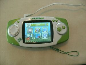 Leapfrog Leapster Explorer Green GS Hand Held Game System Tested and Working