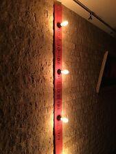 Vintage Wandlampe 2m Rot E27 Design Edison Retro Industrial Loft Leuchte Steam
