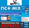 NC+N MIX doladowanie Aufladung 6 M Telewizja Na Karte NC+N MIX TnK TVN POLSAT