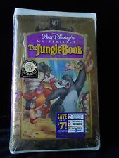 Walt Disneys The Jungle Book Limited Edition 30th Anniversary VHS Factory Sealed