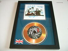 THE VERVE   SIGNED  GOLD CD  DISC