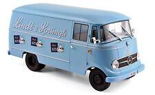 "Mercedes L319 1957 ""Lindt&Sprüngli"" blau 1:18 Norev neu & OVP 183418"