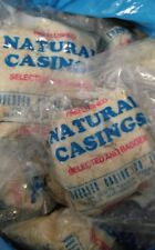 TWENTY PACKS of Natural Hog Pork Casings Casing for Sausage for 2000+ lbs meat