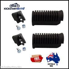 For Honda CT110 Foot Peg Set Footpeg Rubber Kit Postie Bike Posty CT 110 Pair