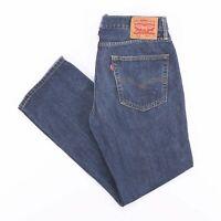 Vintage LEVI'S 514 Regular Straight Fit Men's Blue Jeans W32 L30