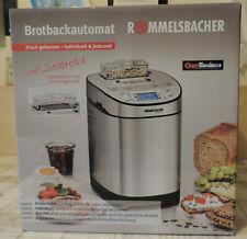 Rommelsbacher Brotbackautomat BA 550 edelstahl neu unbenutzt