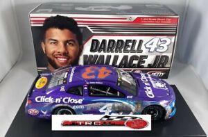 Bubba Wallace 2018 Lionel #43 Daytona Raced Version Click n' Close 1/24
