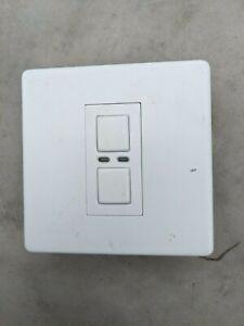 LightwaveRF 1 Gang Dimmer Switch White JSJSLW400 LW400 Master Unit