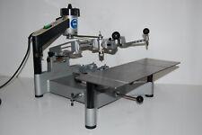 Gravograph Graviermaschine im3 con molti accessori