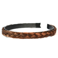 New Braided Synthetic Hair Plaited Elastic Headband Hairband for Wedding Party