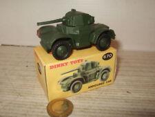 Voitures militaires miniatures Dinky