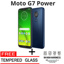 Brand New Motorola G7 Power GSM Unlocked Worldwide + Free Tempered Glass