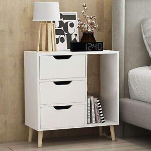 3 drawer bedside table modern home bedside bedroom bedside table Bedside Table