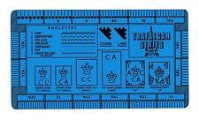 Trafalgar Gauge Stamp Perforation Perf Gauge - Double Sided