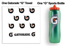 Gatorade Individual Workout Kit - One 32oz Squeeze Sport Bottle and 1 'G' Towel