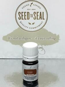 Sealed Young Living Clove 100% Pure Therapeutic-Grade Essential Oil 5 ml