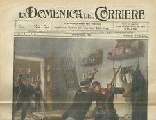 La Domenica del Corriere 5 - 12 Dicembre 1909 Le Tragedie dell'Aria
