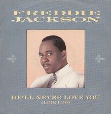 FREDDIE JACKSON - He'll Jamais Love Vyou (Like Oui) - 1985 Capitol - 12CL 387
