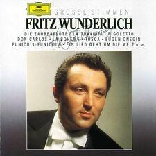Fritz Wunderlich : Grosse Stimmen [Great Voices] (CD 1993) *NR MINT* FREEUKPOST!