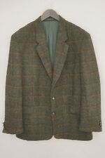 Hombre Harris Tweed Blazer Westbury Chaqueta Escocés Lana EU54 Talla / US44 XL