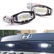 LED Number License Plate Light For Honda Civic EM2/ES7 City Legend Accord Acura