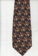 Lanvin-Paris-Authentic-100% Silk Tie-Made In Italy-La25- Men's Tie