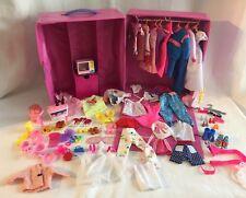 Vintage 1980's Barbie Clothing 109 Piece Lot Ken Mattel Reebok Sneakers