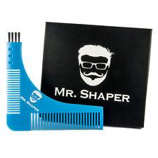 Mr Shaper - Beard Shaping Tool - Beard Comb Template For Perfect Symmetry